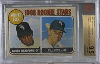 Buddy Bradford, Bill Voss (Proof) [BVG 9.5 GEM MINT]