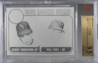 Buddy Bradford, Bill Voss (Black & White Proof) [BVG 9.5 GEM MIN…