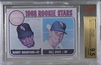 Buddy Bradford, Bill Voss (Cyan Proof) [BVG 9.5 GEM MINT]
