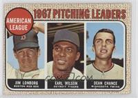 Jim Lonborg, Earl Wilson, Dean Chance (Error: