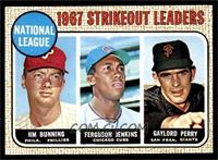 National League Strikeout Leaders (Jim Bunning, Ferguson Jenkins, Gaylord Perry…
