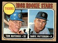 Tigers Rookie Stars (Tom Matchick, Daryl Patterson) [EXMT]