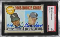 1968 Rookie Stars - Buddy Bradford, Bill Voss [SGCAuthenticAuthenti…