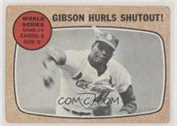 World Series Game #4 - Gibson Hurls Shutout! [Poor]