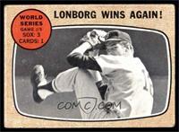 World Series Game #5 - Lonborg Wins Again! [GOOD]