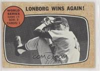 World Series Game #5 - Lonborg Wins Again! [NoneGoodtoVG̴…