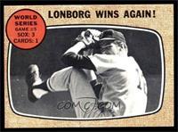 World Series Game #5 - Lonborg Wins Again! [EX]