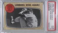 World Series Game #5 - Lonborg Wins Again! [PSA9MINT]