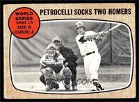 World Series Game #6 - Petrocelli Socks Two Homers [VG]