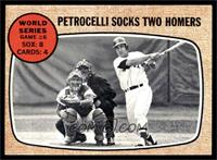 World Series Game #6 - Petrocelli Socks Two Homers [EX]