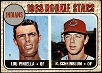 1968 Rookie Stars - Lou Piniella, Richie Scheinblum [FAIR]