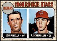 1968 Rookie Stars - Lou Piniella, Richie Scheinblum [NM]