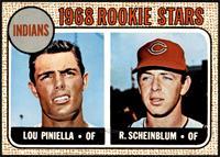 1968 Rookie Stars - Lou Piniella, Richie Scheinblum [NMMT]