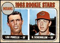 1968 Rookie Stars - Lou Piniella, Richie Scheinblum [VGEX]