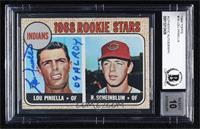 1968 Rookie Stars - Lou Piniella, Richie Scheinblum [BASCertifiedBA…