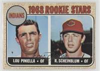 1968 Rookie Stars - Lou Piniella, Richie Scheinblum [GoodtoVG‑…
