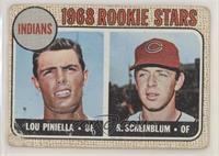 1968 Rookie Stars - Lou Piniella, Richie Scheinblum [PoortoFair]