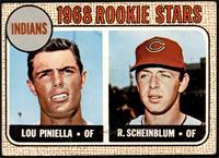 1968 Rookie Stars - Lou Piniella, Richie Scheinblum [GOOD]