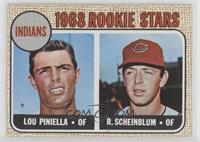 1968 Rookie Stars - Lou Piniella, Richie Scheinblum
