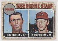 Lou Piniella, Richie Scheinblum [Poor]
