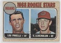 Lou Piniella, Richie Scheinblum [Poor to Fair]
