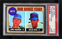 1968 Rookie Stars - Jerry Koosman, Nolan Ryan [PSA3VG(MK)]