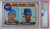 1968 Rookie Stars - Jerry Koosman, Nolan Ryan [PSA3VG]