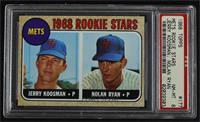1968 Rookie Stars - Jerry Koosman, Nolan Ryan [PSA8NM‑MT]