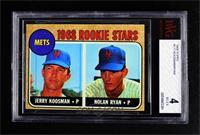 1968 Rookie Stars - Jerry Koosman, Nolan Ryan [BVG4VG‑EX]