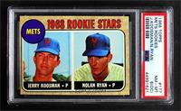 1968 Rookie Stars - Jerry Koosman, Nolan Ryan [PSA6EX‑MT]