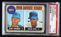 1968 Rookie Stars - Jerry Koosman, Nolan Ryan [PSA1PR]