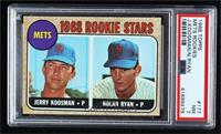 1968 Rookie Stars - Jerry Koosman, Nolan Ryan [PSA 7 NM]