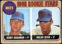 1968 Rookie Stars - Jerry Koosman, Nolan Ryan [FAIR]