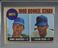 1968 Rookie Stars - Jerry Koosman, Nolan Ryan [NearMint]