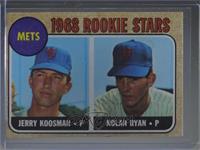 1968 Rookie Stars - Jerry Koosman, Nolan Ryan