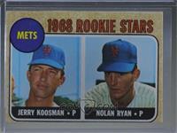 1968 Rookie Stars - Jerry Koosman, Nolan Ryan [Altered]