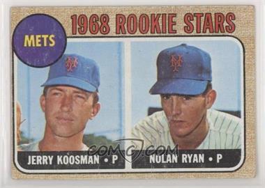 1968 Topps - [Base] #177 - 1968 Rookie Stars - Jerry Koosman, Nolan Ryan