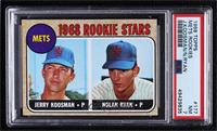 1968 Rookie Stars - Jerry Koosman, Nolan Ryan [PSA7NM]