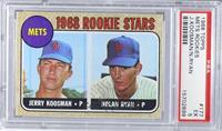 Rookie Stars (Jerry Koosman, Nolan Ryan) [PSA5]