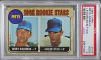 Rookie Stars (Jerry Koosman, Nolan Ryan) [PSA 2 GOOD]