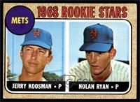 Rookie Stars (Jerry Koosman, Nolan Ryan) [VGEX]