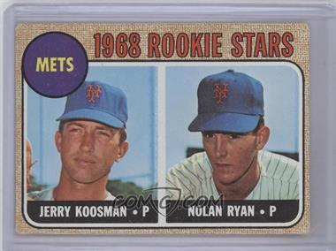 1968 Topps - [Base] #177 - Rookie Stars (Jerry Koosman, Nolan Ryan)