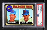 Rookie Stars (Jerry Koosman, Nolan Ryan) [PSA5EX]