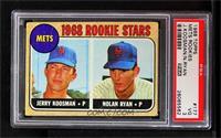 Rookie Stars (Jerry Koosman, Nolan Ryan) [PSA3VG]