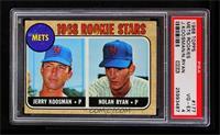Rookie Stars (Jerry Koosman, Nolan Ryan) [PSA4]