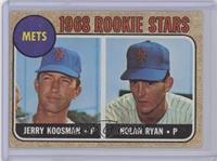 Rookie Stars (Jerry Koosman, Nolan Ryan) [Good to VG‑EX]