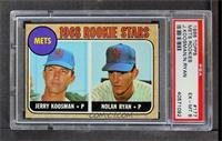 Rookie Stars (Jerry Koosman, Nolan Ryan) [PSA6]