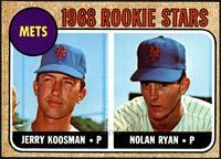 Rookie Stars (Jerry Koosman, Nolan Ryan) [VG]