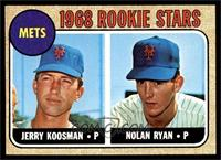 Rookie Stars (Jerry Koosman, Nolan Ryan) [EX MT]