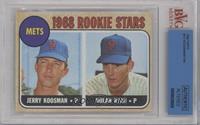 Rookie Stars (Jerry Koosman, Nolan Ryan) [BVGAUTHENTIC]